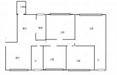 读长郡中学,东城郦都全新装修超大四房,三阳台,带品牌家具电器