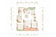 香颂, 4室2厅2卫1厨, 建筑面积约120.78平米