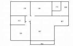 南北通透大四房 实木装修 电梯中高层 品牌家电家具 繁华地段