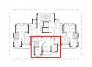 恒大御景半岛,3室2厅1卫1厨, 建筑面积约107.96平米