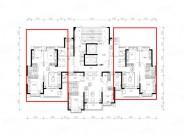恒大御景半岛,3室2厅1卫1厨, 建筑面积约112.52平米